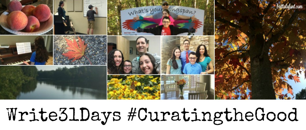 Day 31 #CuratingtheGood — Curating the Good