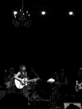 Britt A.M. Live at The First Waltz. Photo by Dara Campbell.