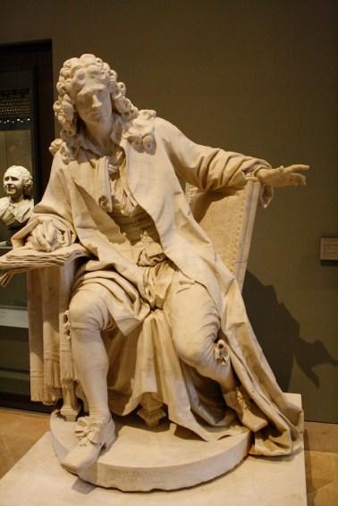 Louvre - Jean Jacques Caffieri - Moliere