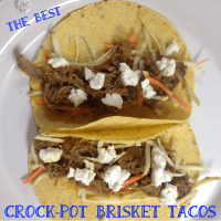 Crock-Pot Brisket Tacos :: The Best, Hands Down!