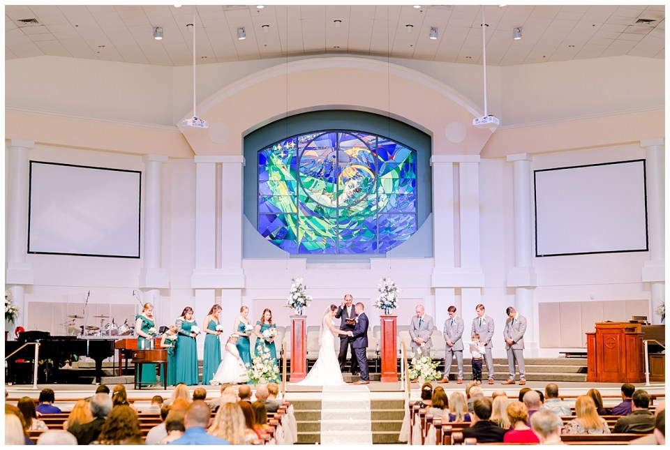 denham springs la live oak methodist wedding ceremony