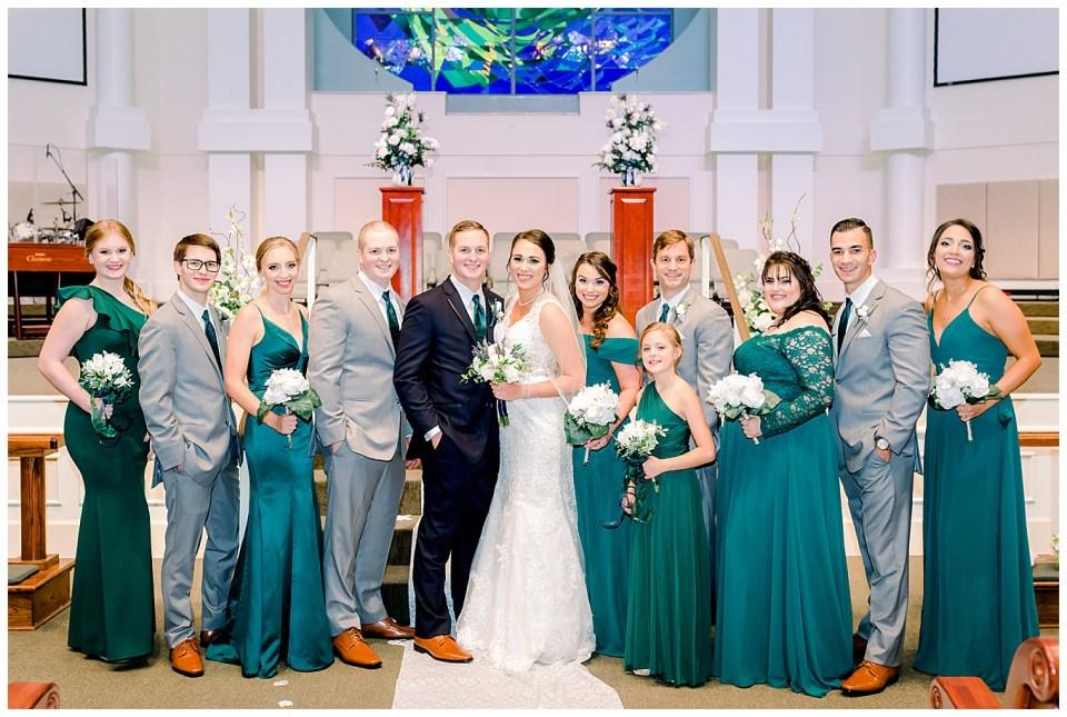 denham springs la bridal party portraits