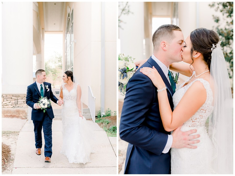 outdoor louisiana bride and groom portraits
