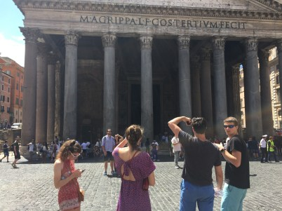 #sibsquad at the Pantheon