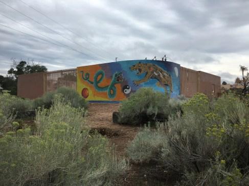 Downtown Mosaic, Santa Fe, New Mexico © Brittany Webb