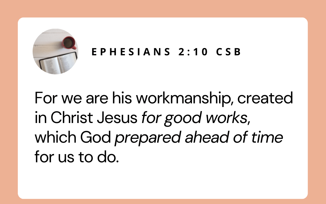 We Have Good & Holy Work to Do