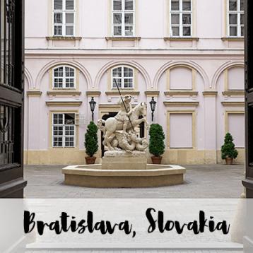 Quick Stop to Bratislava, Slovakia