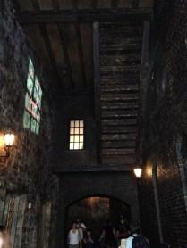 Inside Knockturn Alley.