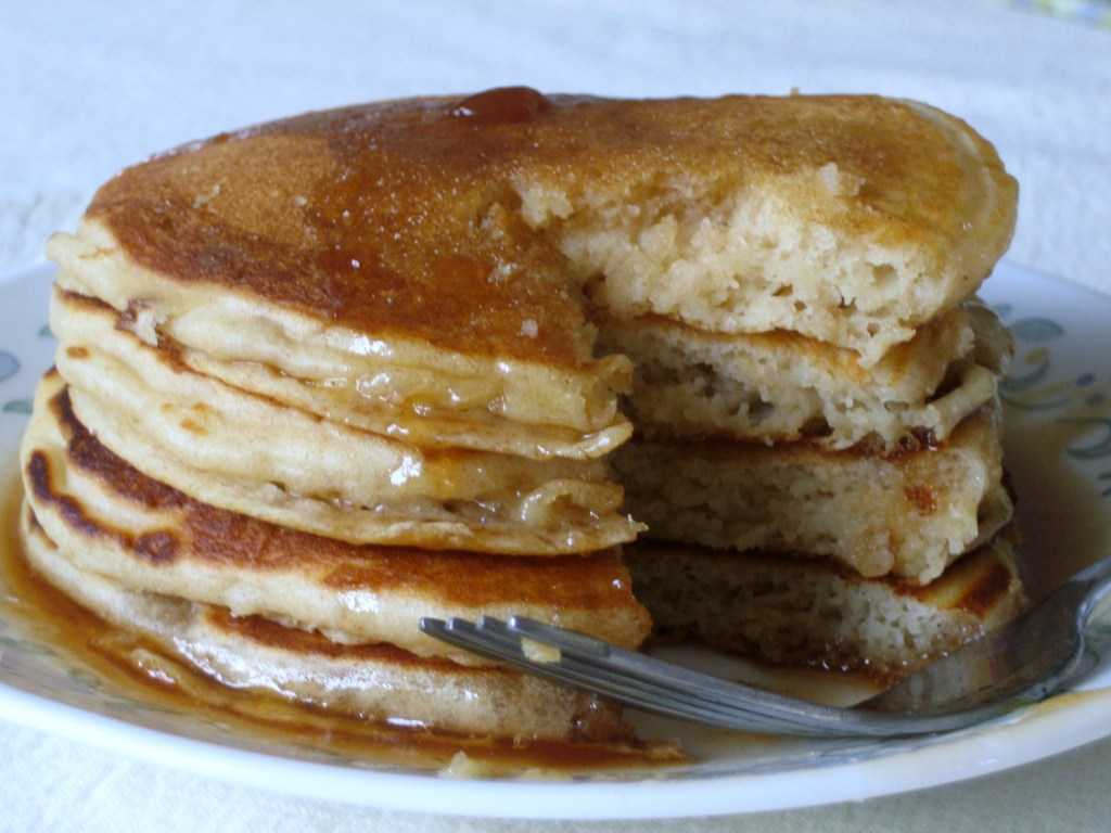 Classic, Fluffy, Buttermilk Pancakes via Brittany's Pantry - I use this recipe for breakfast and brunch, but also use it as my base mix to add all kinds of fun things to!