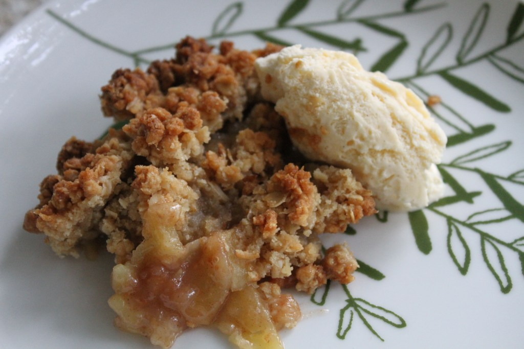 Classic Apple Crisp from Brittany's Pantry