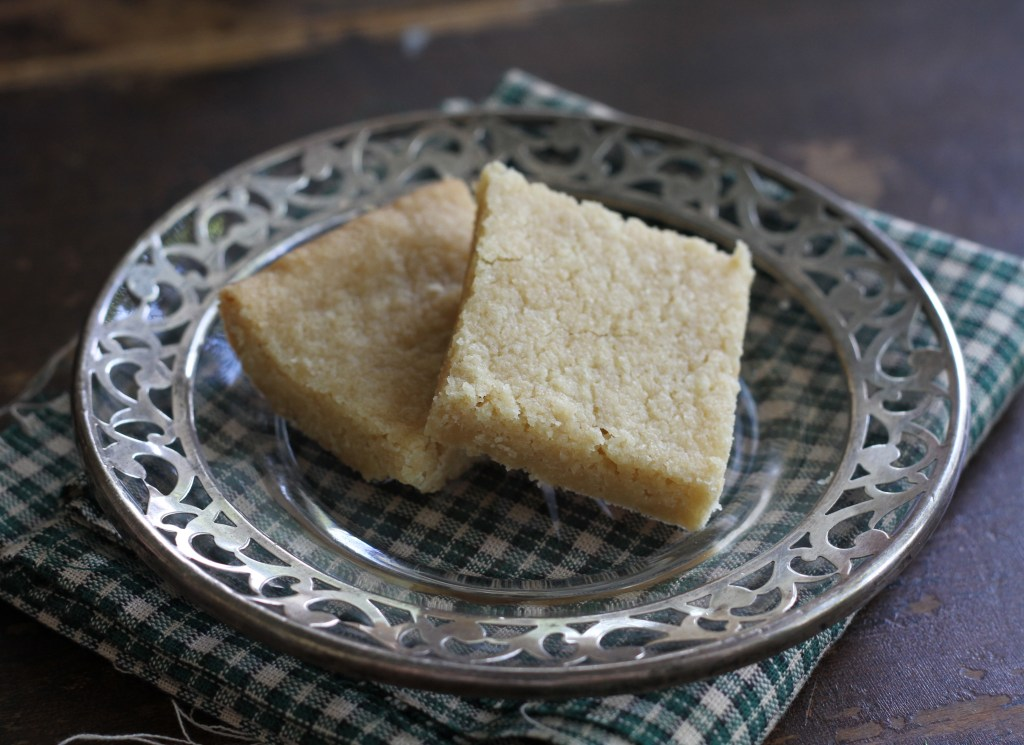 Brown Sugar Shortbread -The Five-Minute Christmas Cookie! {Brittany's Pantry}