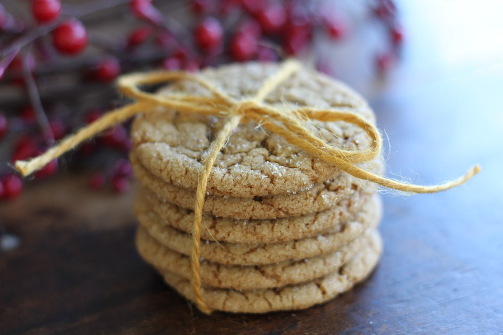 Chewy Ginger Cookies from Brittany's Pantry