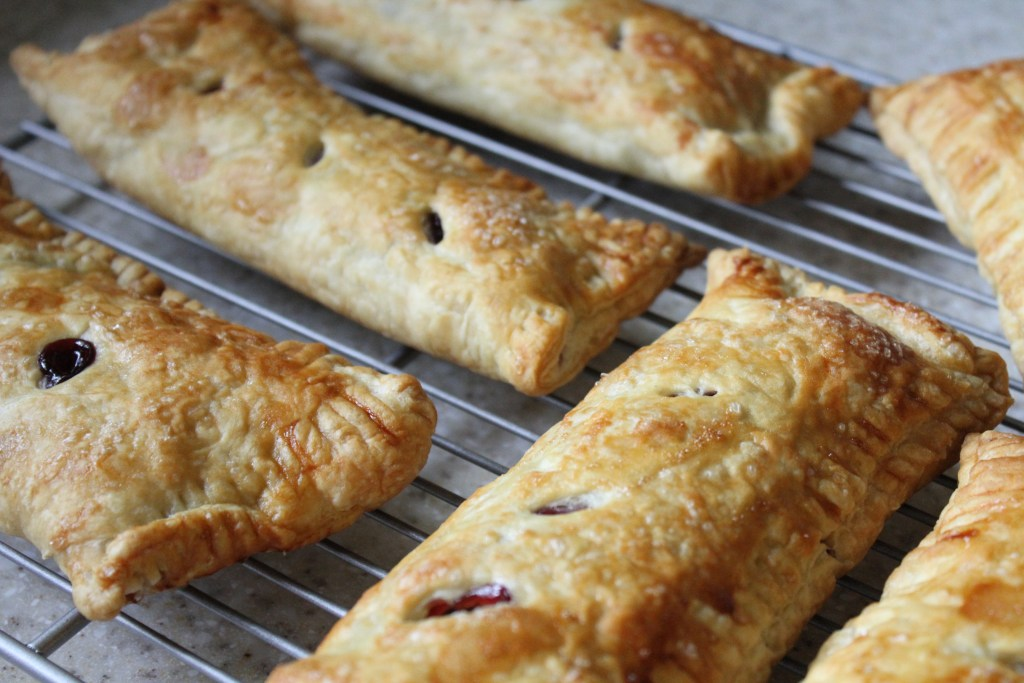 Cherry Hand Pies are so much easier than you think!  via Brittany's Pantry
