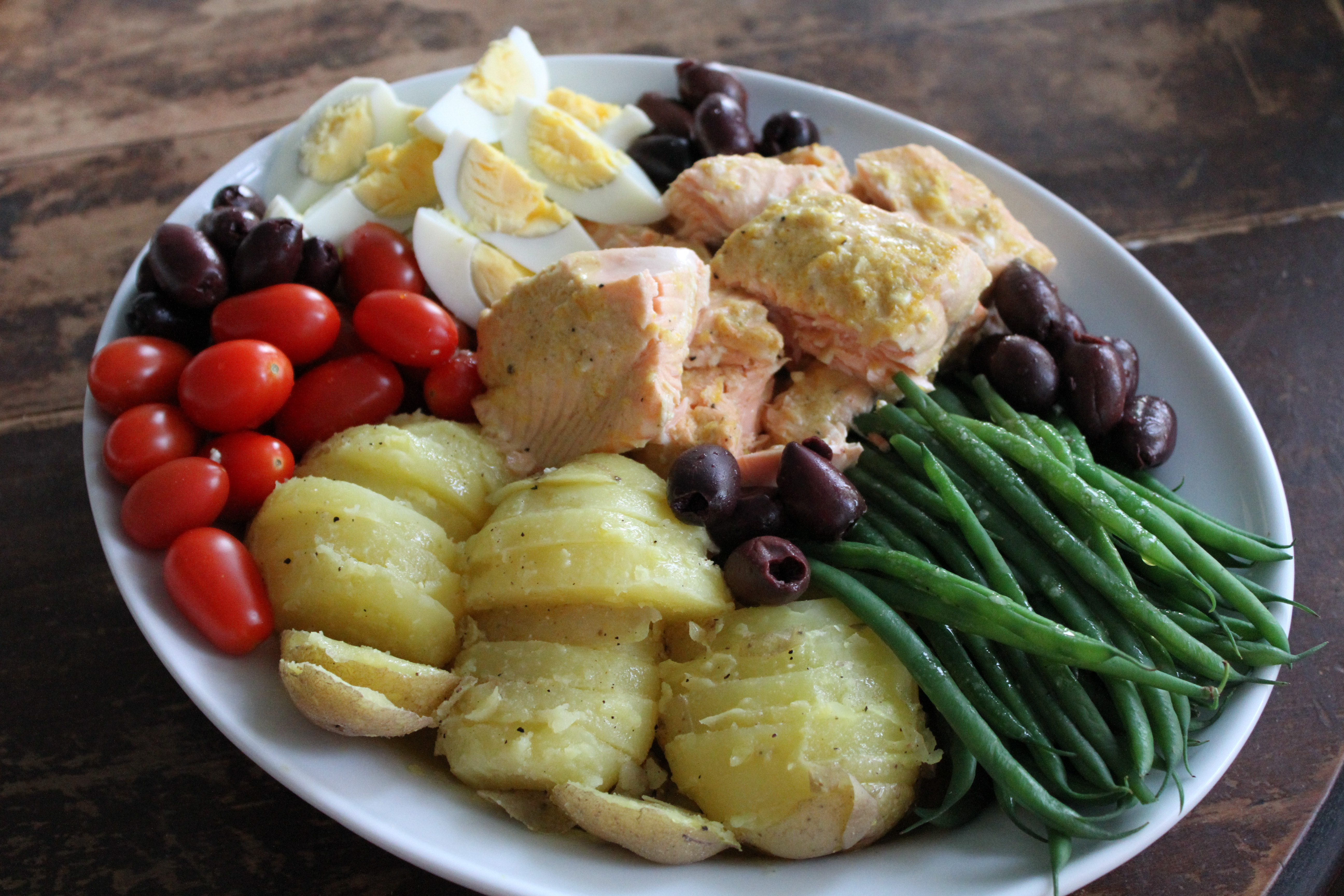 Ina Garten Pantry salmon nicoise - brittany's pantry : brittany's pantry