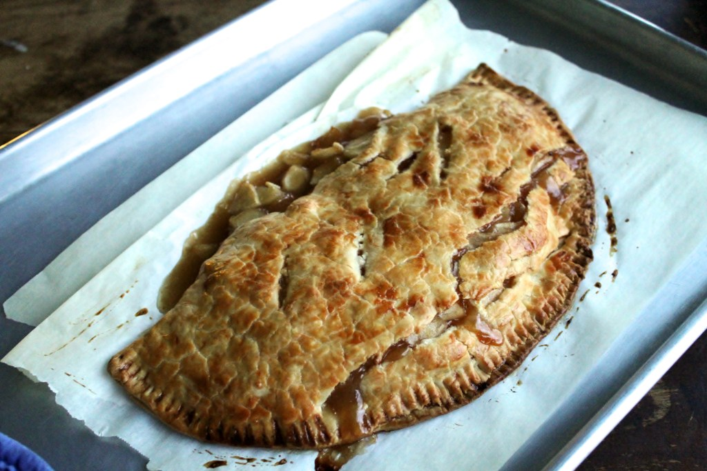 Weeknight Apple Pie