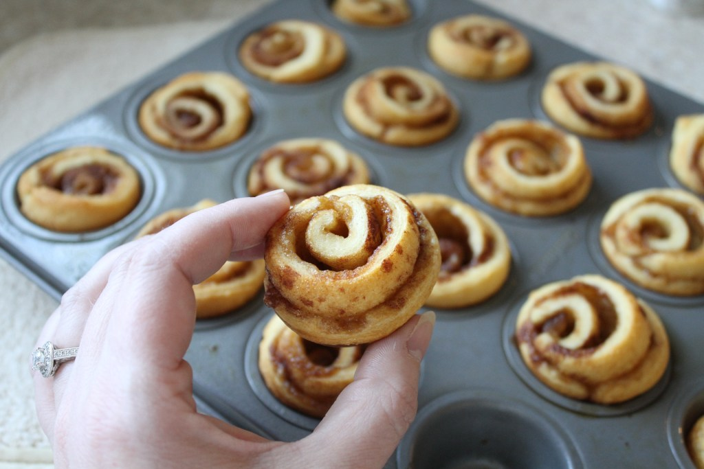 Bite-Sized Cinnamon Rolls