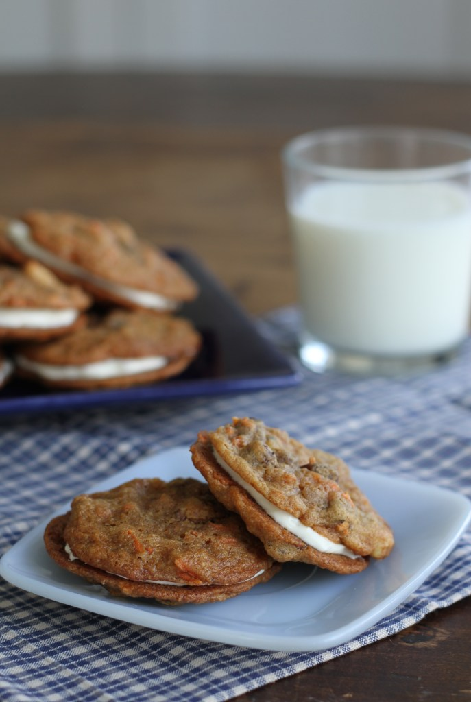 Inside Out Carrot Cake Cookies