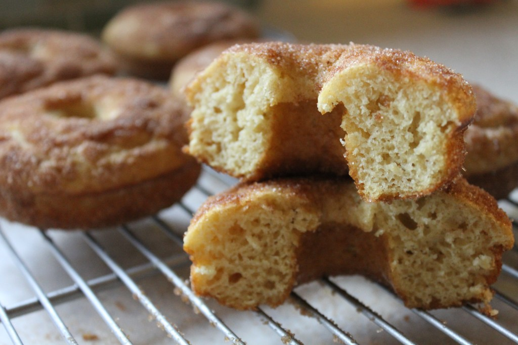Easy Baked Doughnuts via Brittany's Pantry