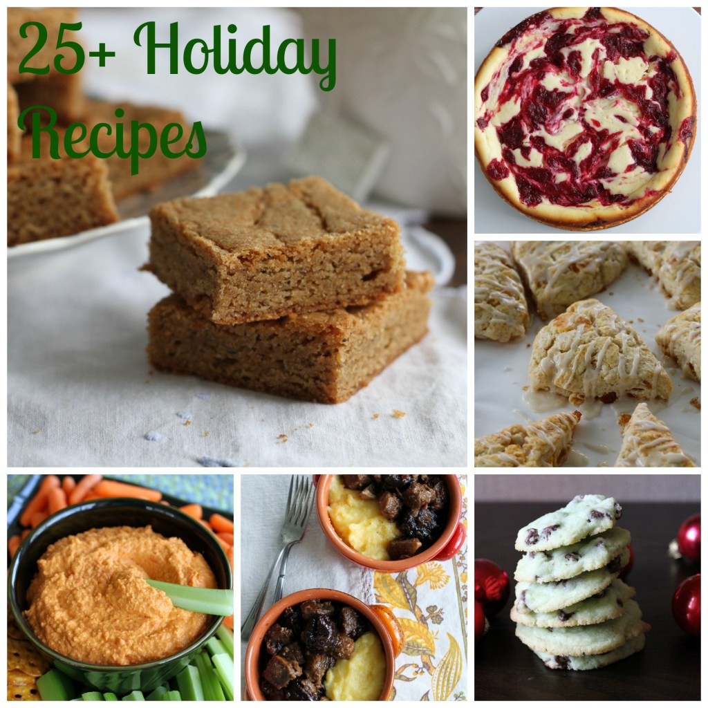 Over 25 Holiday recipes to make your menu planning effortless!  A little bit of everything in this list! {Brittany's Pantry}