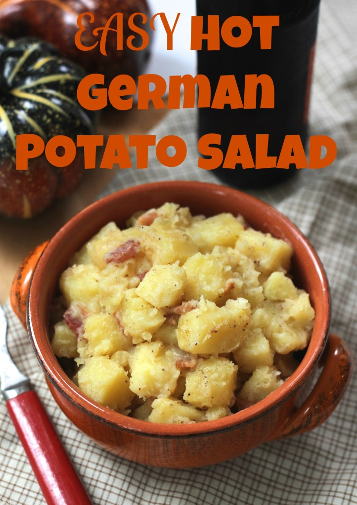 Easy Hot German Potato Salad via Brittany's Pantry makes Oktoberfest especially delicious!