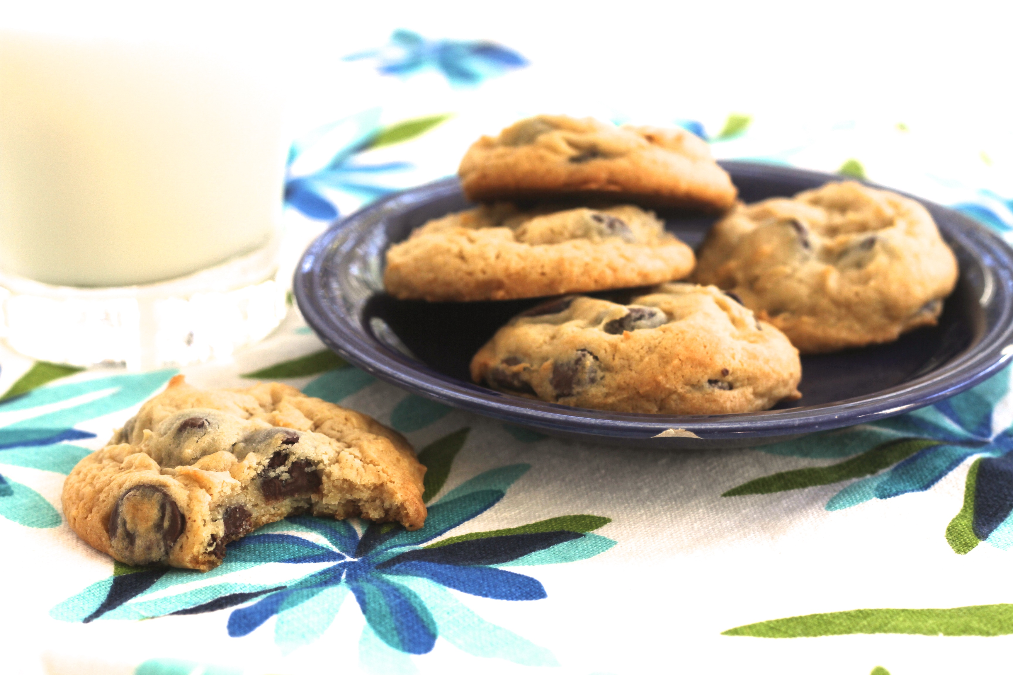 Soft Batch Cream Cheese Chocolate Chip Cookies - Brittany's Pantry ...