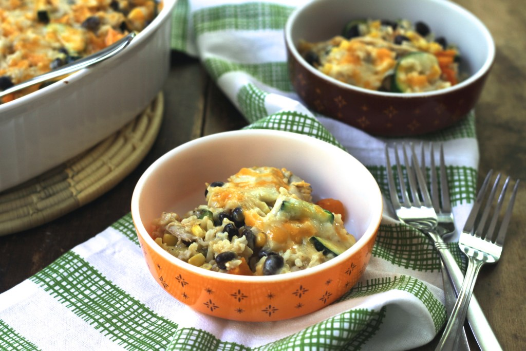 This Mexican Casserole is healthy and full of flavor! {Brittany's Pantry}