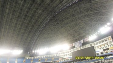 roof of the Rogers Centre