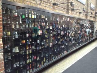 Beer Wall in Brugge