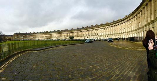 The Royal Cresent in Bath