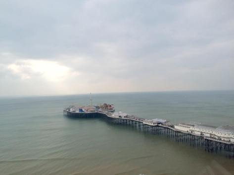 Brighton Pier from the Wheel