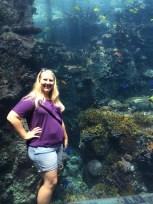me at the aquarium