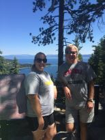 dad and I at the Vista Point