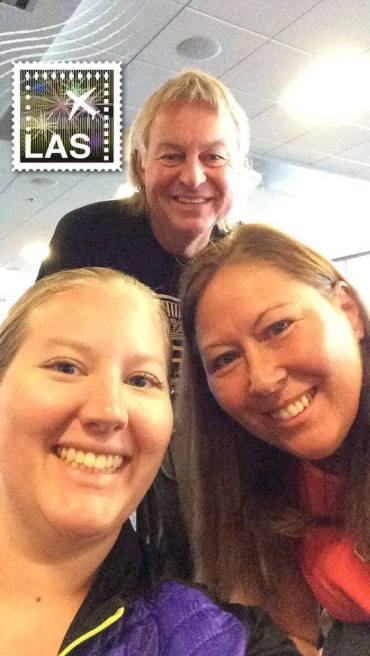 mom, dad, and I in Las Vegas