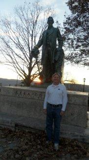 dad with Ezra Cornell
