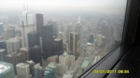 Toronto from the CN Tower
