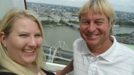 dad and I on the London Eye