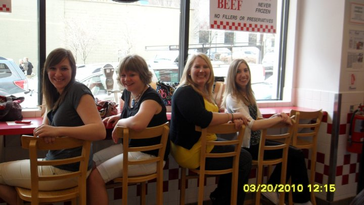 group at lunch