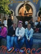Taylor, Sam, and I in Morocco