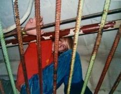 Bryce climbing above us