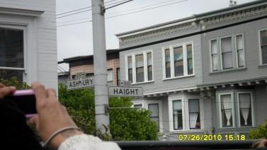 corner of Haight and Ashbury