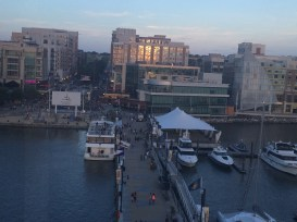 National Harbor from the Capital Wheel