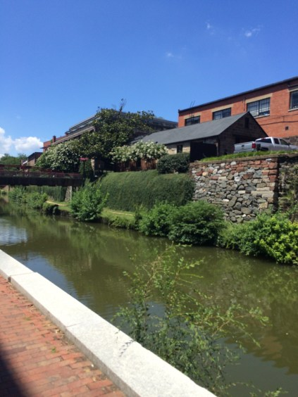Canal in Georgetown