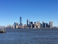 skyline from the boat