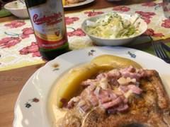 Kotlety v pivní omáčce - Koteletts in Biersauce