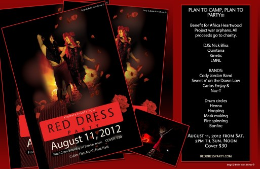 Red Dress Party