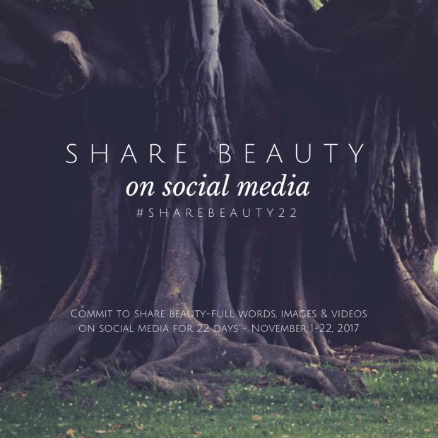 #sharebeauty