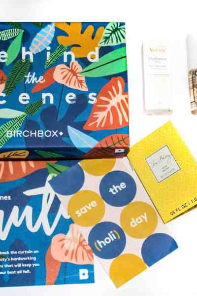 October 2017 Birchbox Review: Behind The Scenes