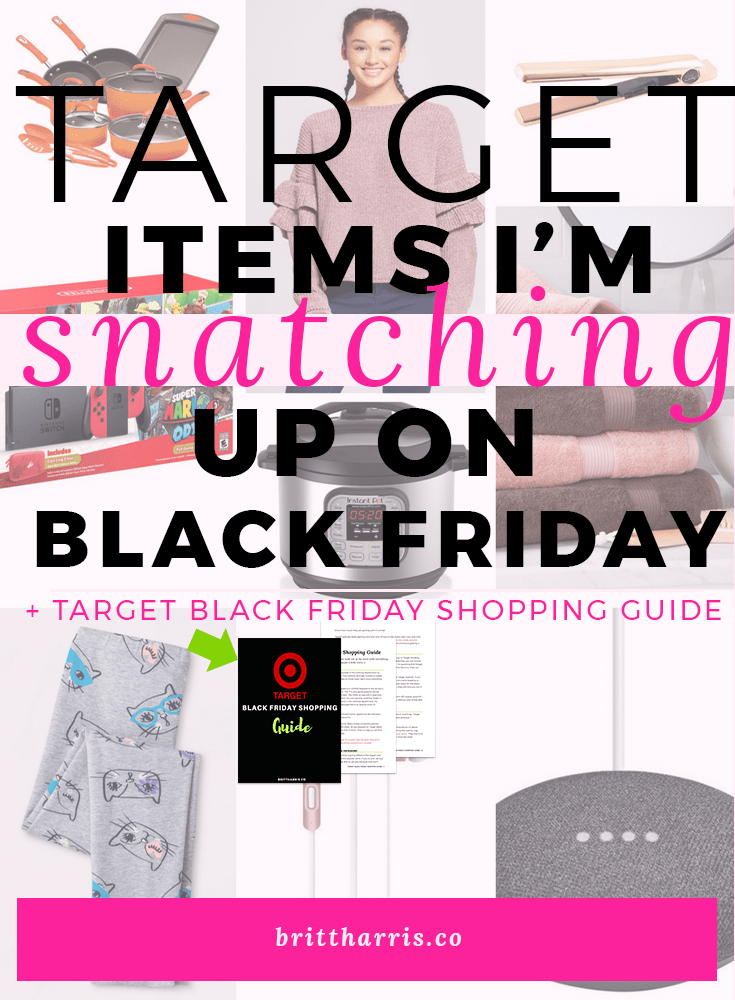 Target Black Friday Items I'm Snatching Up