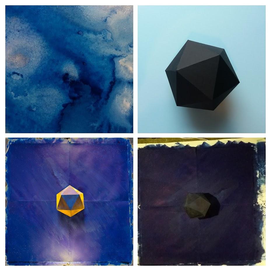 Observations progress image, a quartet of experiments.