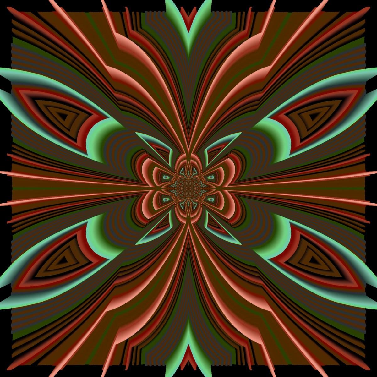 Kalidoscopic Neons glitch art